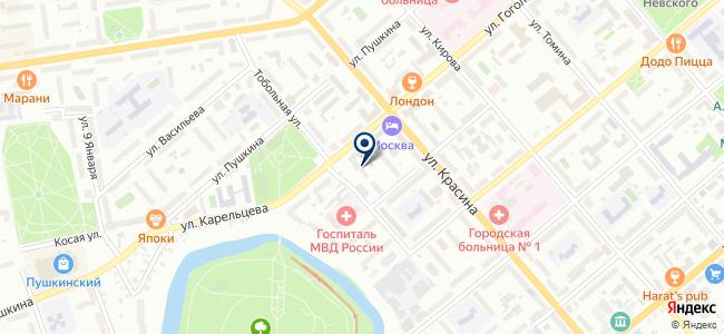Денко, ООО на карте