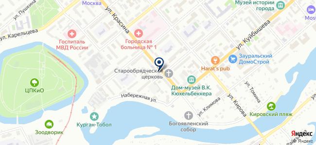 Пирания на карте