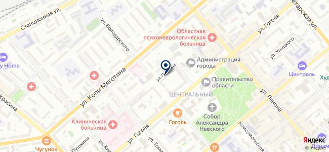 Троя-С на карте