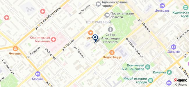 Уральский оптико-механический завод, ОАО на карте