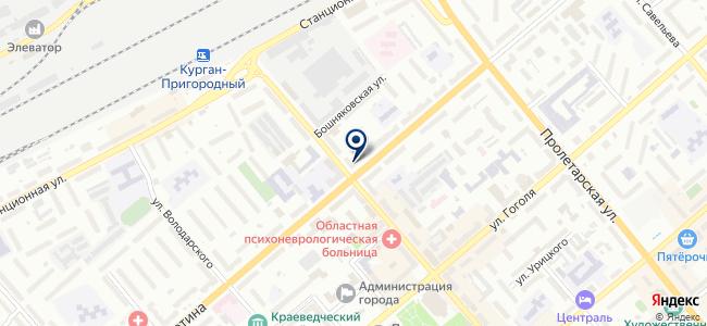 Зингер на карте