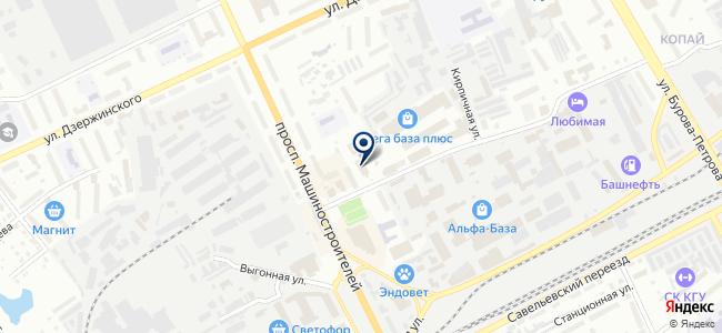 Гелиос на карте