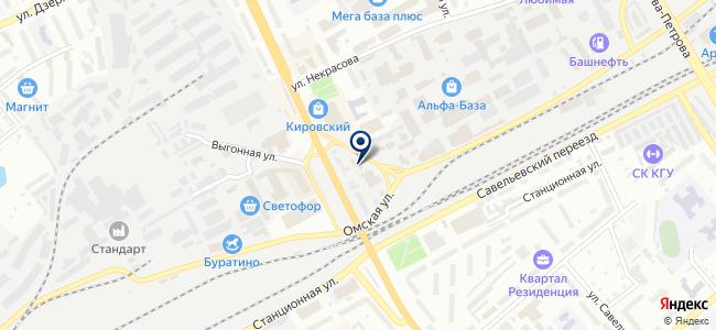 Хозкомплект на карте