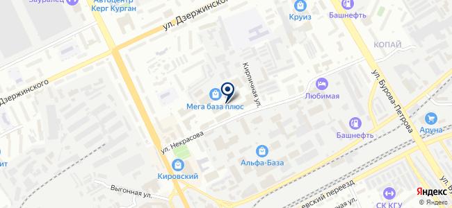 Оптово-розничная фирма на карте