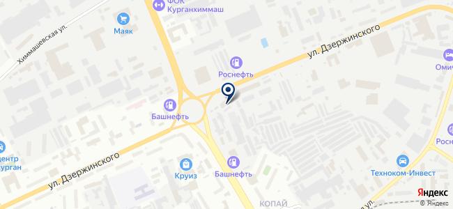 Служба наружного освещения на карте