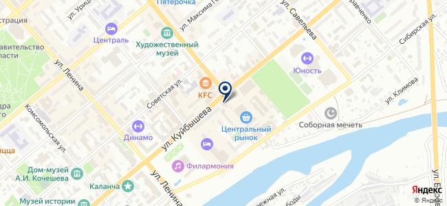 МПР на карте