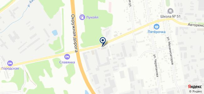 СИП-Центр, ЗАО на карте