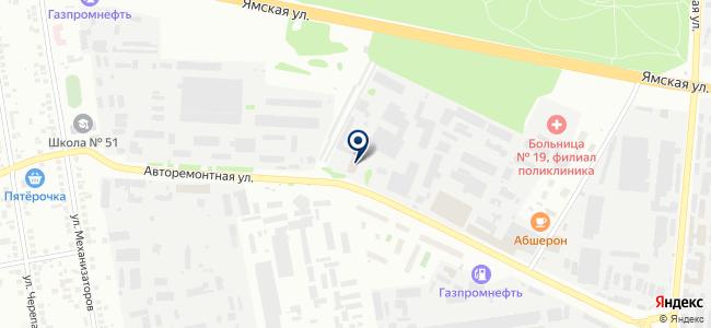 СегментСтрой, ООО на карте