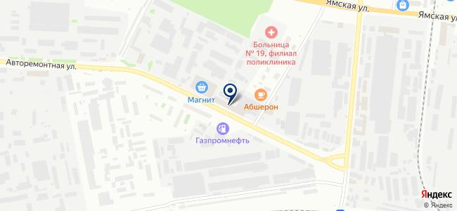 ТюменьСтройКомплект, ООО на карте