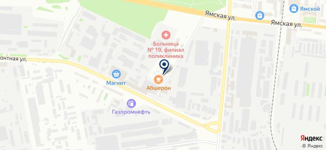 Сибинструментсервис, ООО на карте