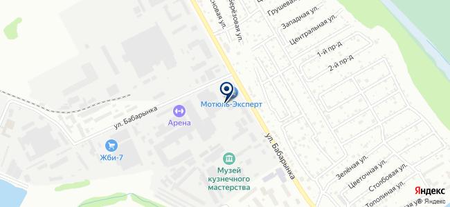 Чип-тюнинг от SVV на карте