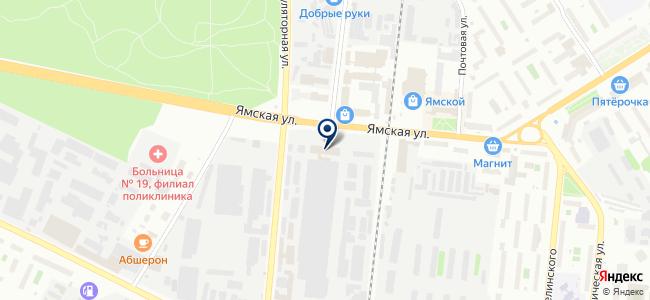 Тюменский аккумуляторный завод, ОАО на карте