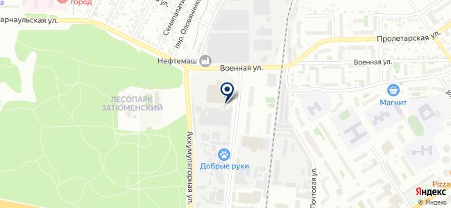 Тюмень-Восток-Сервис, ЗАО на карте