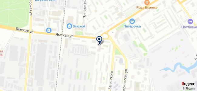 Тюменьбытстрой на карте