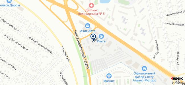 Ирвис Север, ООО на карте