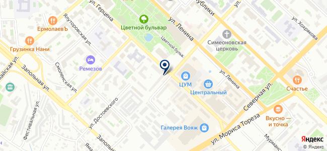 Инома на карте