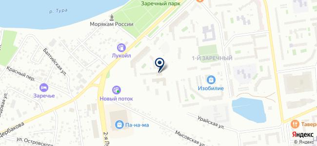ЭЛТОК-ТЮМЕНЬ, ООО на карте