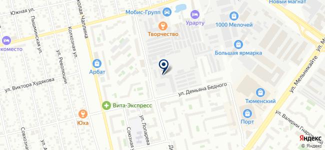 Южноуральская изоляторная компания, ЗАО на карте