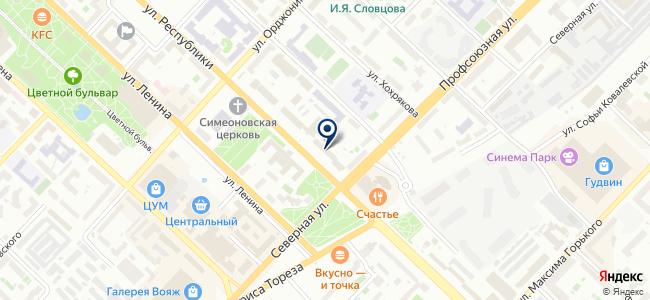 Компания Тензор, ООО на карте