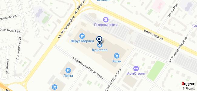 LEROY MERLIN на карте