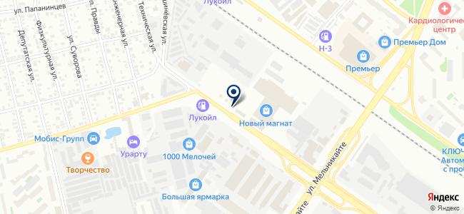 Универсалсервис на карте