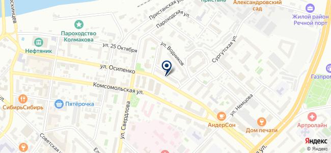 ИНСПром, ООО на карте