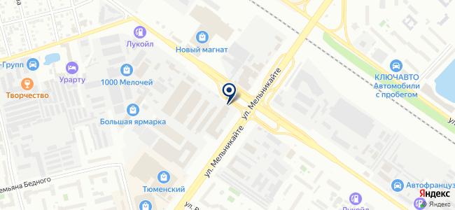 Регион 72, ООО на карте