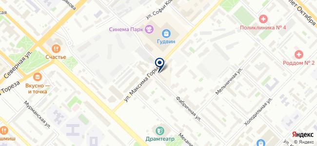 Найт Лайт, ООО на карте