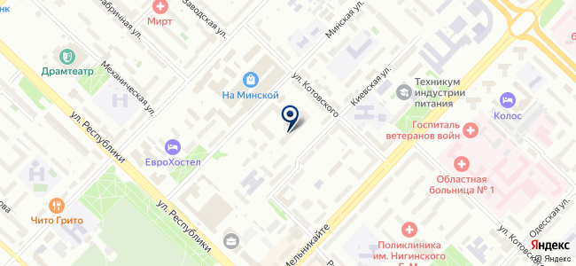 Сибинкормонтаж, ЗАО на карте