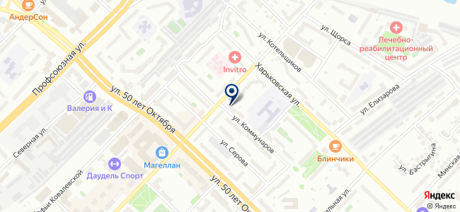 Анесис на карте