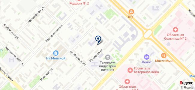 Дом на ладони, ООО на карте