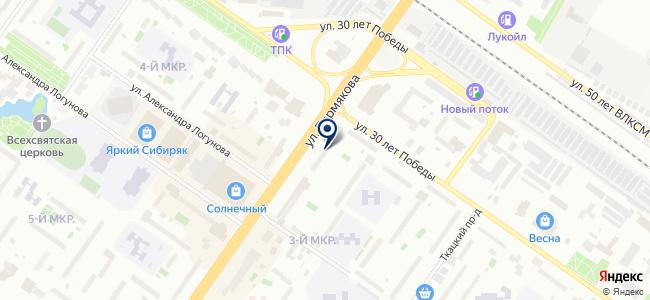 ЭКОлайт, ООО на карте
