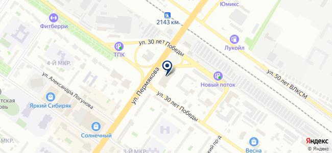 Теплолюкс-Тюмень, ООО на карте
