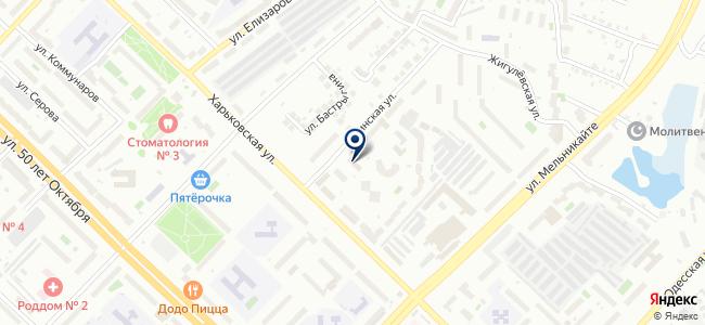 Продвижение, ООО на карте