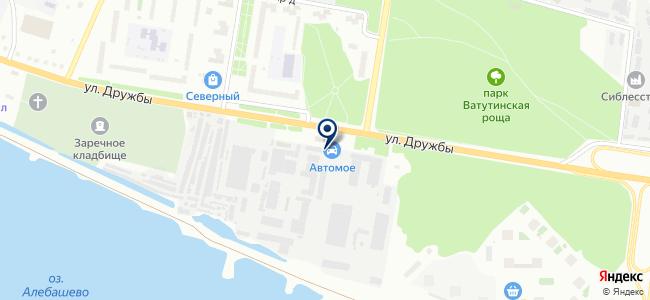 Манометр на карте