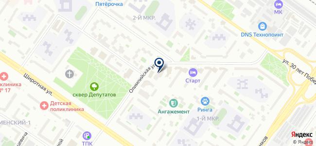 Сибстройград, ООО на карте