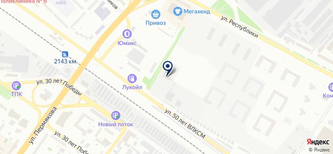 Бруклин, ООО на карте