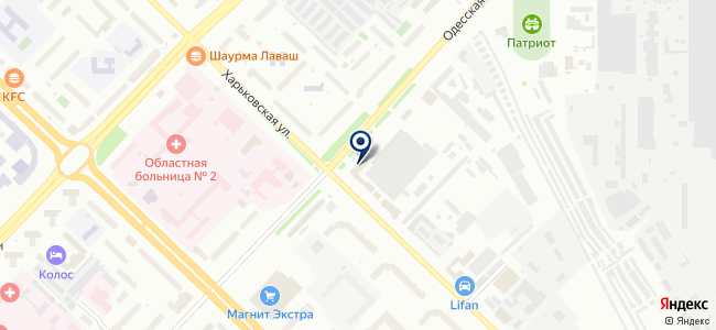 Крамер на карте