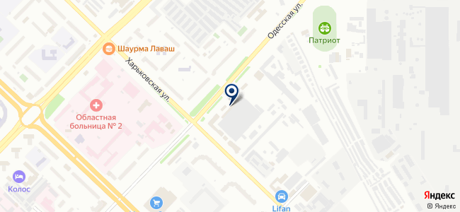 Тюменский приборостроительный завод, ЗАО на карте