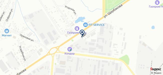 Первая энергетическая компания, ООО на карте