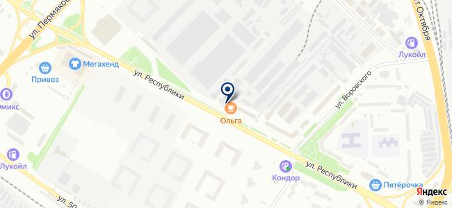 ЭТО, ООО на карте
