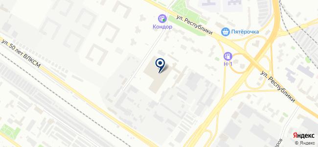 ТПАТП №1, ОАО на карте