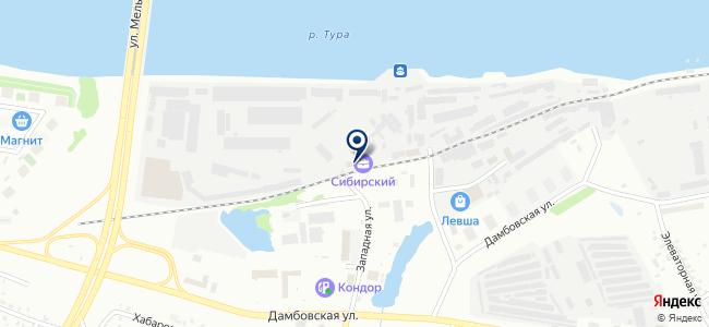 Сила тока, ООО на карте