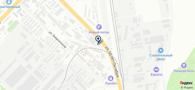 Успех, ООО на карте