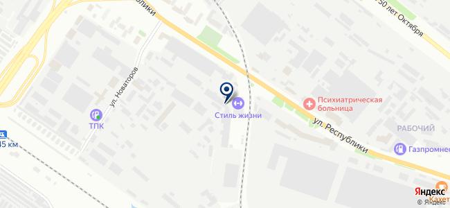 Инструментальная торговая компания, ООО на карте