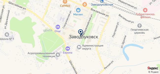 АВК-технологии, ООО на карте