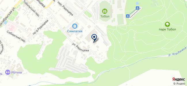 Тобольская МК №15 на карте