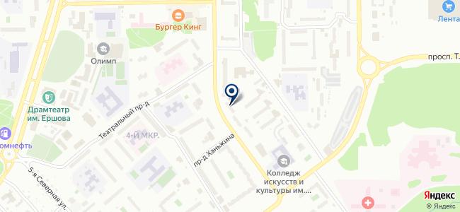 Электроточка на карте