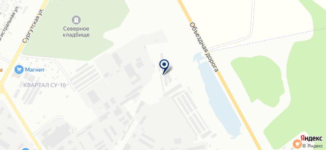 УАЗ-Газель СЕРВИС на карте
