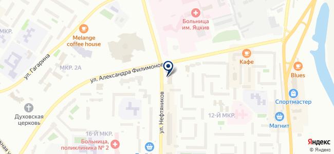 Окружной центр обеспечения пожарной безопасности, ЗАО на карте